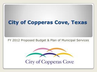 City of Copperas Cove, Texas