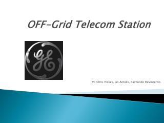 OFF-Grid  Telecom  Station