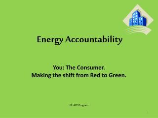 Energy Accountability