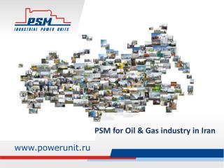 PSM for Oil & Gas industry in Iran
