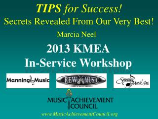 TIPS  for Success! Secrets Revealed From Our Very Best!