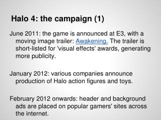 Halo 4: the campaign (1)