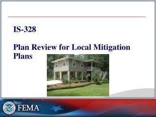 IS-328 Plan Review for Local Mitigation Plans