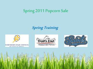 Spring 2011 Popcorn Sale