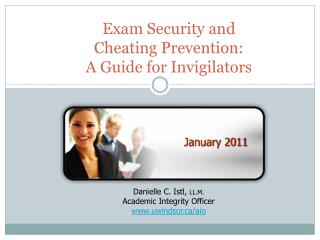 Exam Security and  Cheating Prevention: A Guide for Invigilators