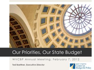 Our Priorities, Our State Budget