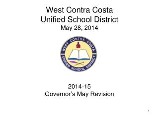 West Contra Costa Unified School District May 28, 2014
