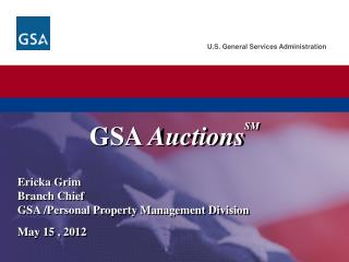 GSA  Auctions SM