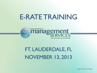 E-rate Training