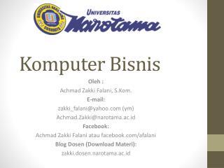 Komputer Bisnis