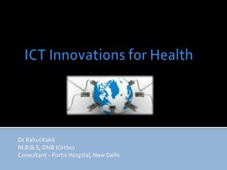 ICT Innovations for Health