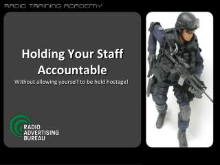 Holding Your Staff Accountable