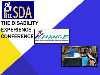 The disability experience conference