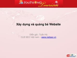 Xây dựng và quảng bá  Website