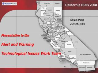 California EDIS 2008