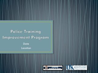 Police Training Improvement Program