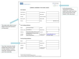 As the document is substantial it would be useful if  you enter your first name and surname in the header of the docume