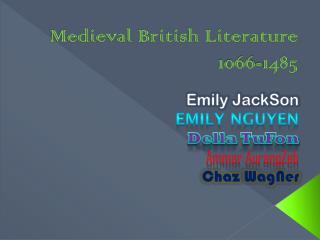 Medieval British Literature 1066-1485