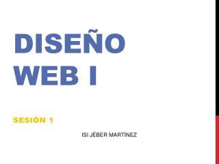 Diseño Web I