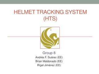 HELMET tracking system (HTS)