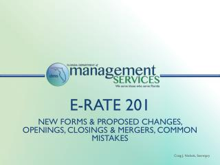 E-rate 201