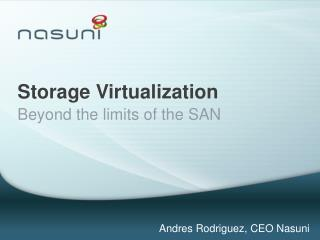 Storage Virtualization
