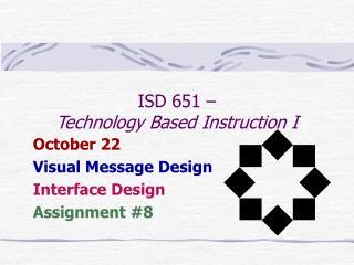 isd 651    technology based instruction i