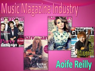 Music Magazine Industry