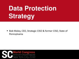 Data Protection Strategy