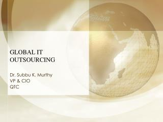 global it outsourcing