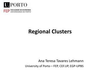 Regional Clusters
