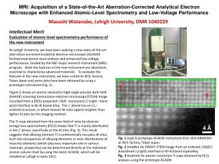 MRI : Acquisition of a State-of-the-Art Aberration-Corrected Analytical Electron