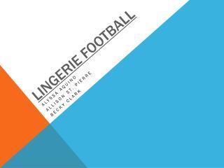 Lingerie Football