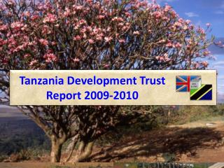 Tanzania Development Trust Report 2009-2010