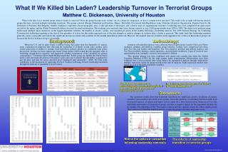 What If We Killed bin Laden? Leadership Turnover in Terrorist Groups