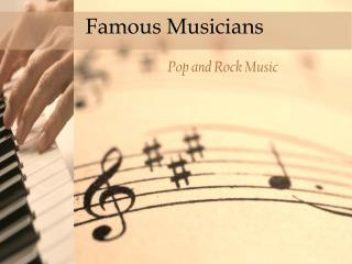 Famous Musicians