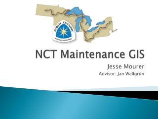 NCT Maintenance GIS