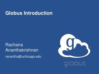 Globus Introduction