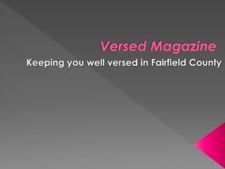 Versed Magazine