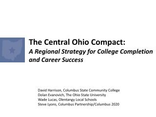 The Central Ohio Compact: A Regional Strategy for College Completion and Career Success