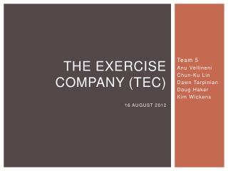 The Exercise Company (TEC)