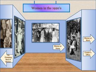 Women in the 1920's