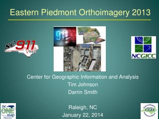 Eastern Piedmont Orthoimagery 2013