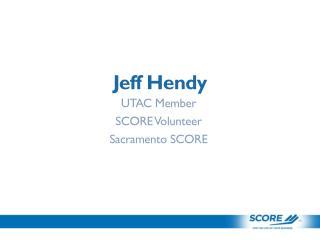 Jeff Hendy