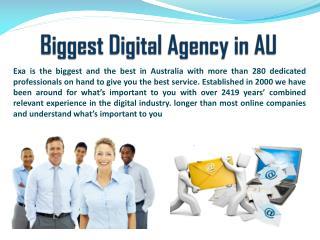 Biggest Digital Agency in AU