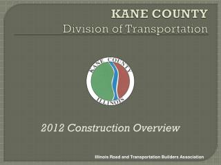KANE COUNTY Division of Transportation