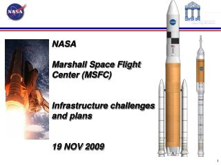 NASA Marshall Space Flight Center (MSFC) Infrastructure challenges and plans 19  NOV  2009