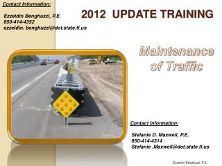 2012  Update training