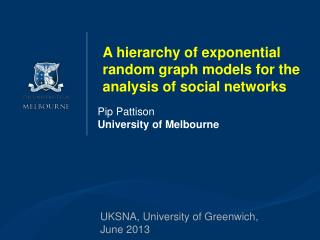 Pip Pattison University of Melbourne