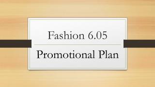 Fashion 6.05